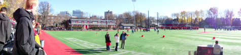 Faculty members have opportunity to see students in new light at sporting events
