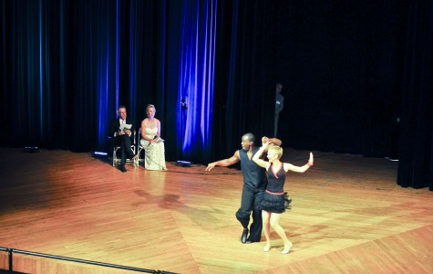 Holman hits the stage in dancing fundraiser