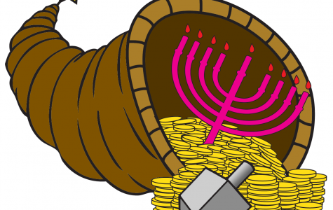 Thanksgiving and the second night of Hanukkah will both fall on Nov. 28. This will not happen again for 77,798 years. GRAPHIC BY MAX STERNLICHT