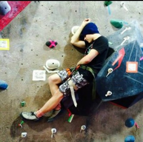 Rock climbing class promotes building trust and setting goals