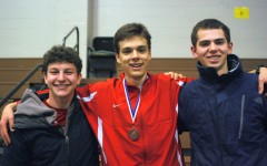 Senior Emmanuel D'Agostino places fifth in the 28th New England Indoor Track and Field Championships