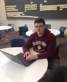 Sophomore Alex Feinstein created an interactive website that members of the school community can use when they need help getting around the building. He decided to do the project when he realized, as a freshman, that it was tough to get around.