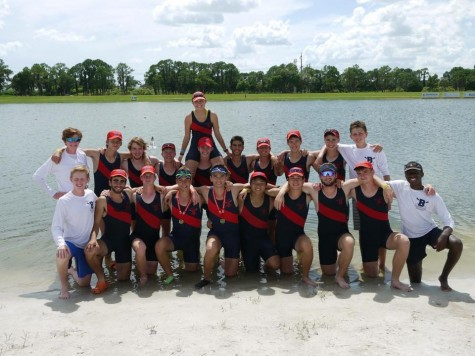 Boys crew places first, eighth, 12th and 16th  in Nationals