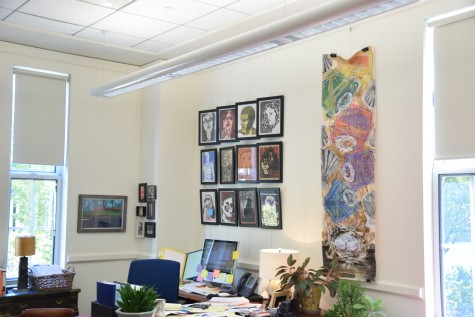 Holman buys students' artwork for $600