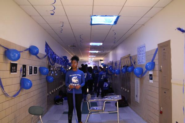 Juniors decorated the junior hallway. Ani Mathison / Sagamore staff