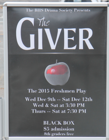 Review: The Giver Freshman Play