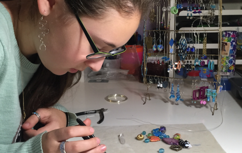 Junior Maya Krantz has been designing and creating jewelry since middle school.