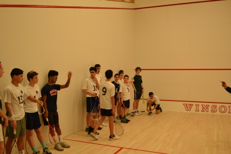 Squash team loses in tight contest against Needham