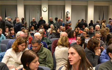 Members of the community express their opinions on race after claims of prejudice and discrimination in the Brookline Police Department