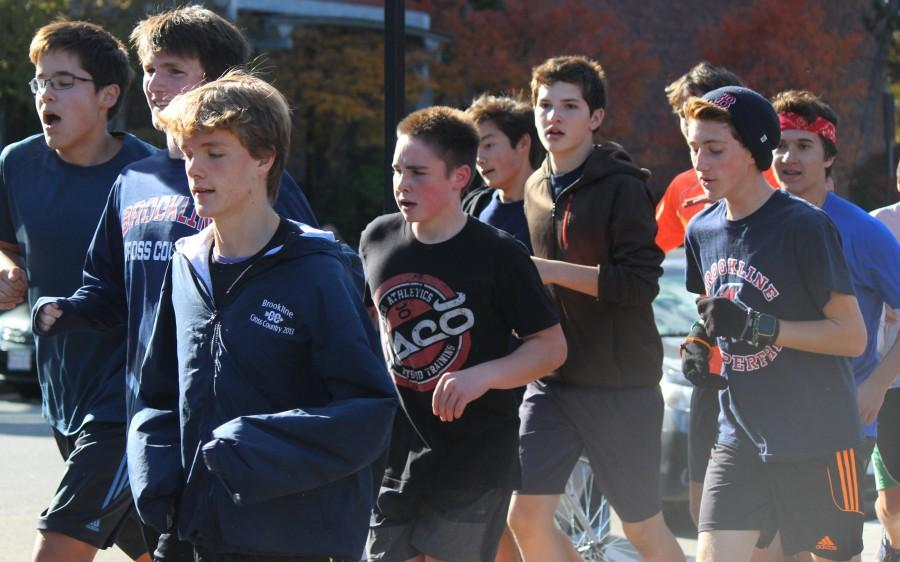 The cross country team is one of the teams at the high school with a no cut policy. According to Maclean, having no cuts contributes to an unequal balance of skill on the team.