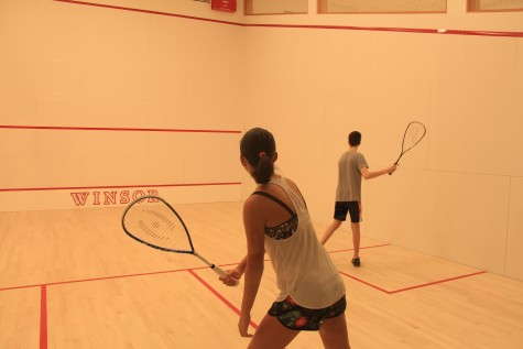 New squash team gains popularity for various reasons
