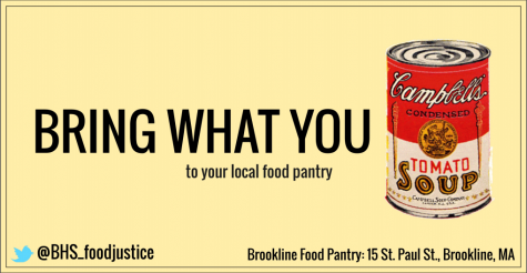 Food Justice Club plans mural to encourage food donations