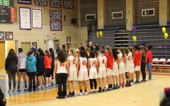 Girls basketball falls in hard-fought contest on emotion-filled Senior Night