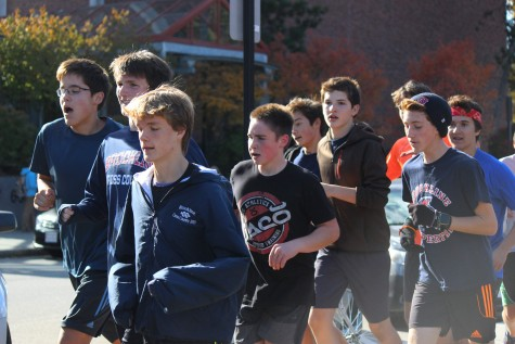Weather aggravates cross country runners