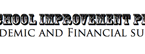 School improvement plan: academic and financial support