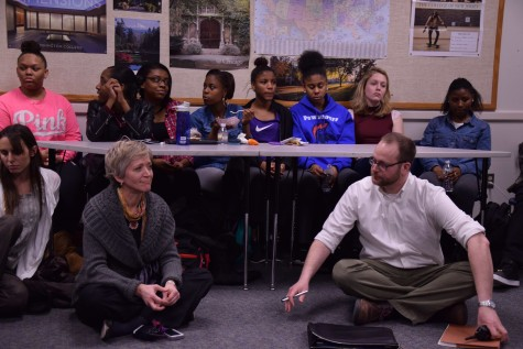 Lunch and Learn: Faculty discusses police and math class incidents with students