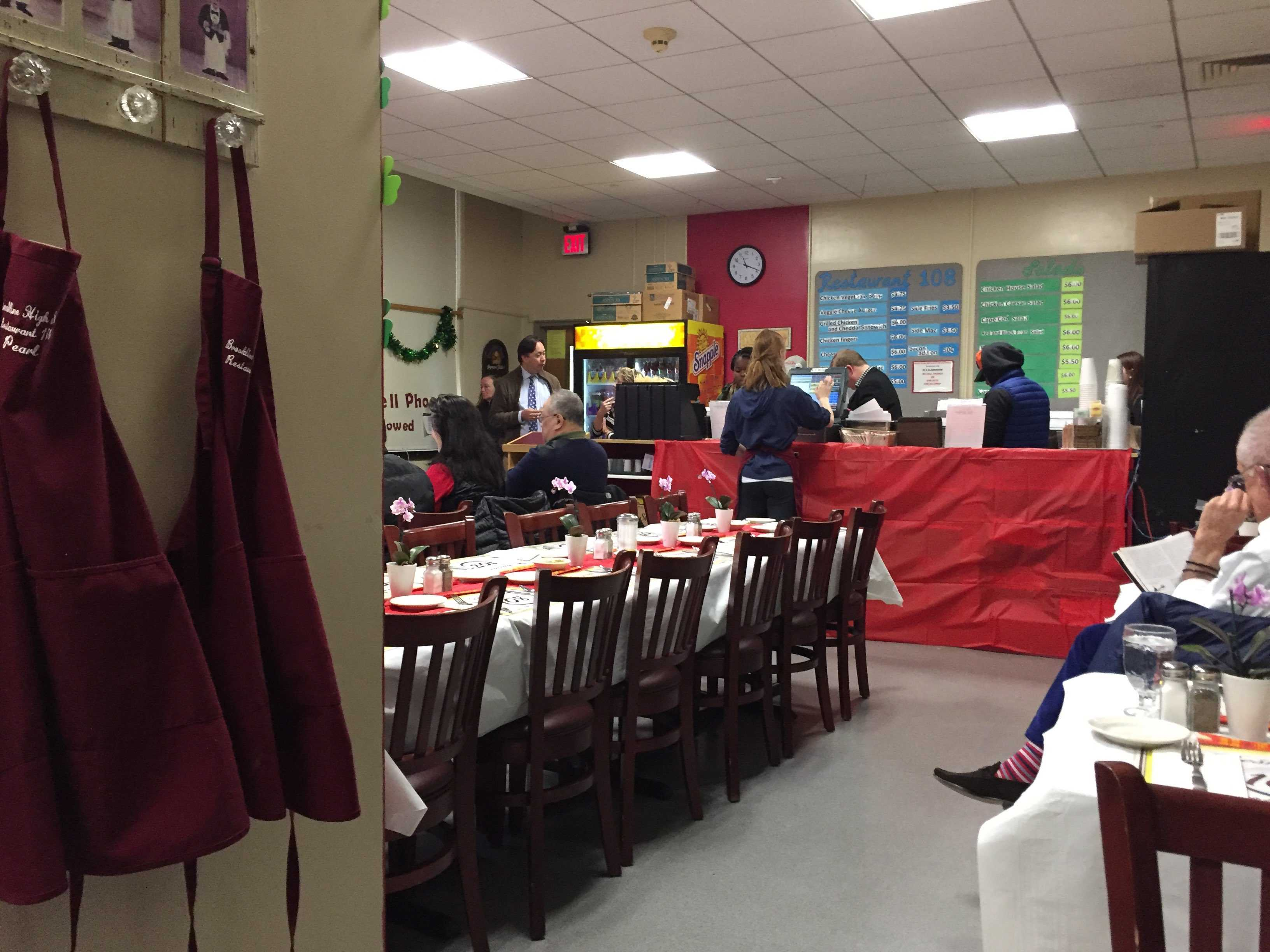 Restaurant 108 holds the first round of its annual Top Chef competition. Chef Alex Chin produced a three course meal inspired by Asian cuisine.