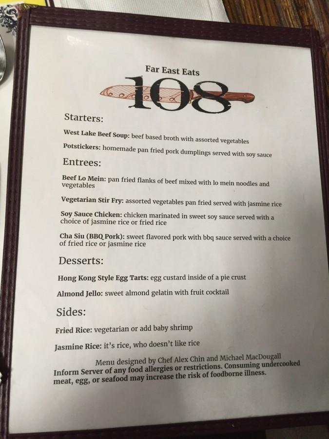 The+menu+for+the+first+round+of+Restaurant+108+Top+Chef+was+created+by+Alex+Chin+and+inspired+by+Asian+cuisine.+JASON+ALTSHULER+%2F+SAGAMORE+STAFF