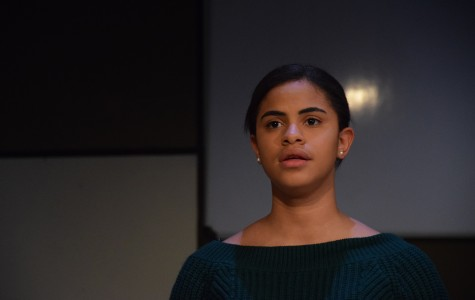Senior Kerimal Suriel Guerrero stars in the spring play,