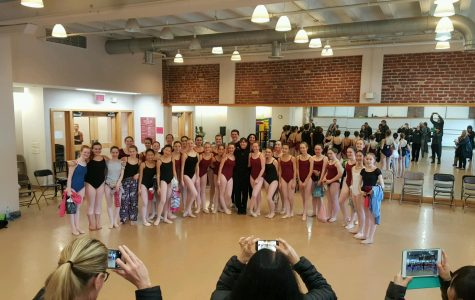 Sophomore Rachel Vin in a summer ballet intensive which helped her prepare for the year. CONTRIBUTED BY RACHEL VIN.