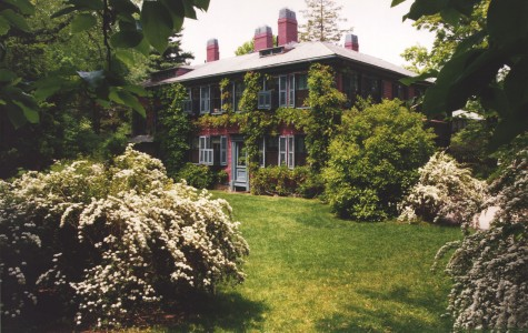 The Frederick Law Olmsted Historical Site, located in Brookline, MA. PHOTO BY STEVEN STERNBACH, COURTESY OF THE NATIONAL PARK SERVICE, FREDERICK LAW OLMSTED HISTORICAL SITE.