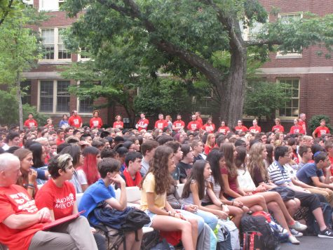 The high school welcomes the Class of 2020