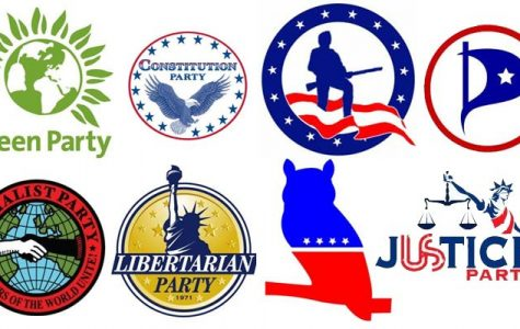 Third party candidates offer alternate choices in election