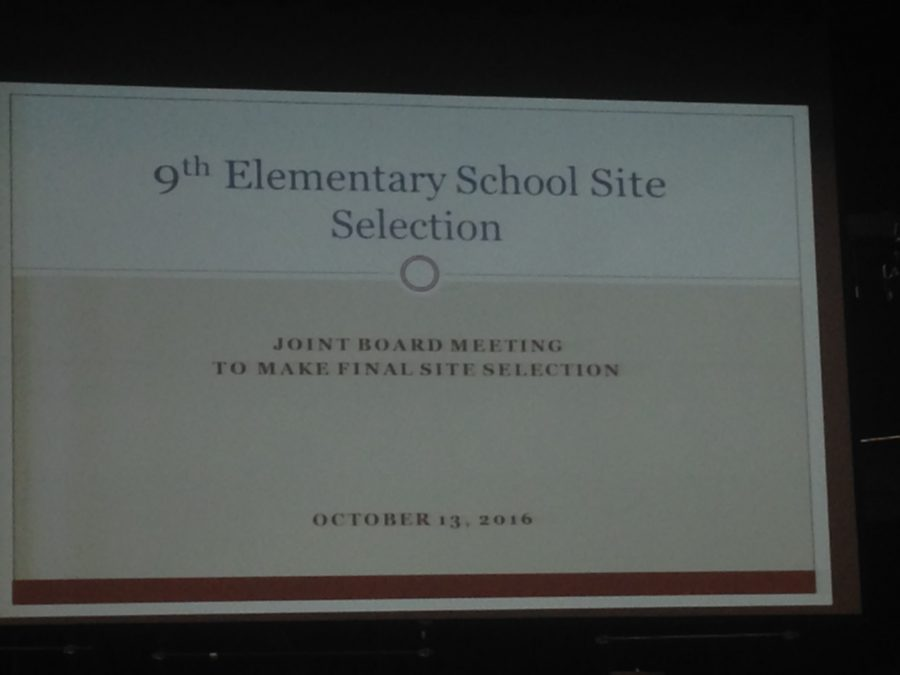 BREAKING: School Committee designates Baldwin location for ninth elementary school