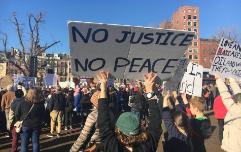 Women's marches in Boston and Washington, D.C. provide outlet for anger and pride