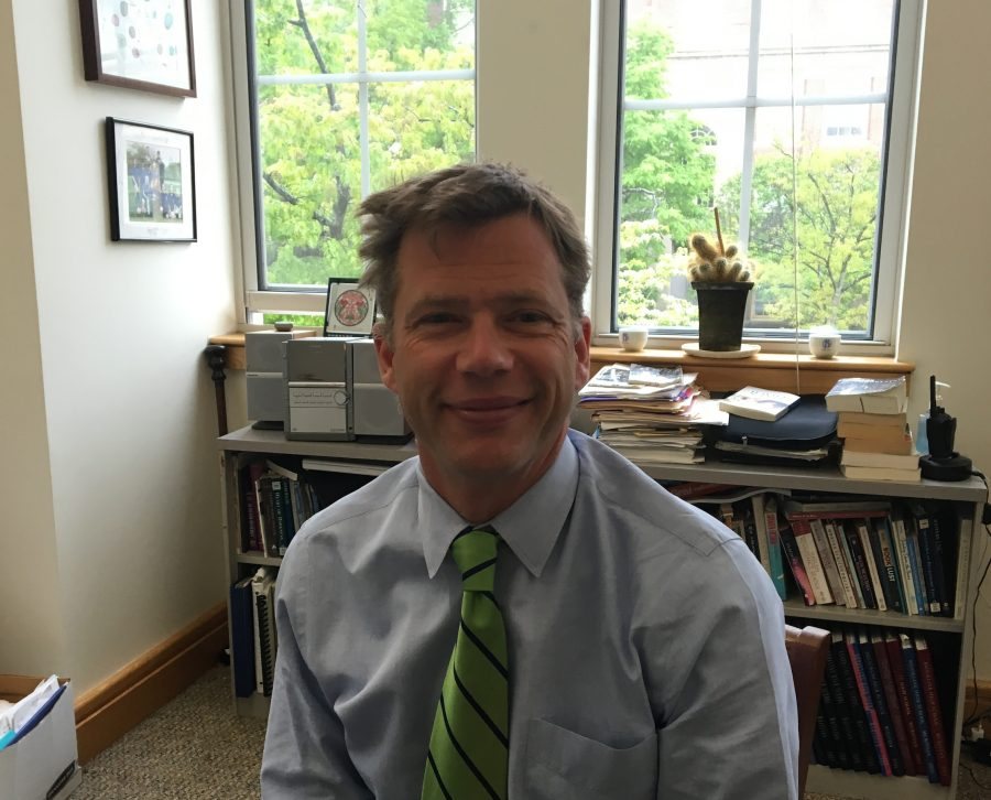 Rising through the ranks! Anthony Meyer has been working in Brookline since 2003, and has just been announced to be the new headmaster of the high school.  IDO KUSHNER / SAGAMORE ARCHIVES