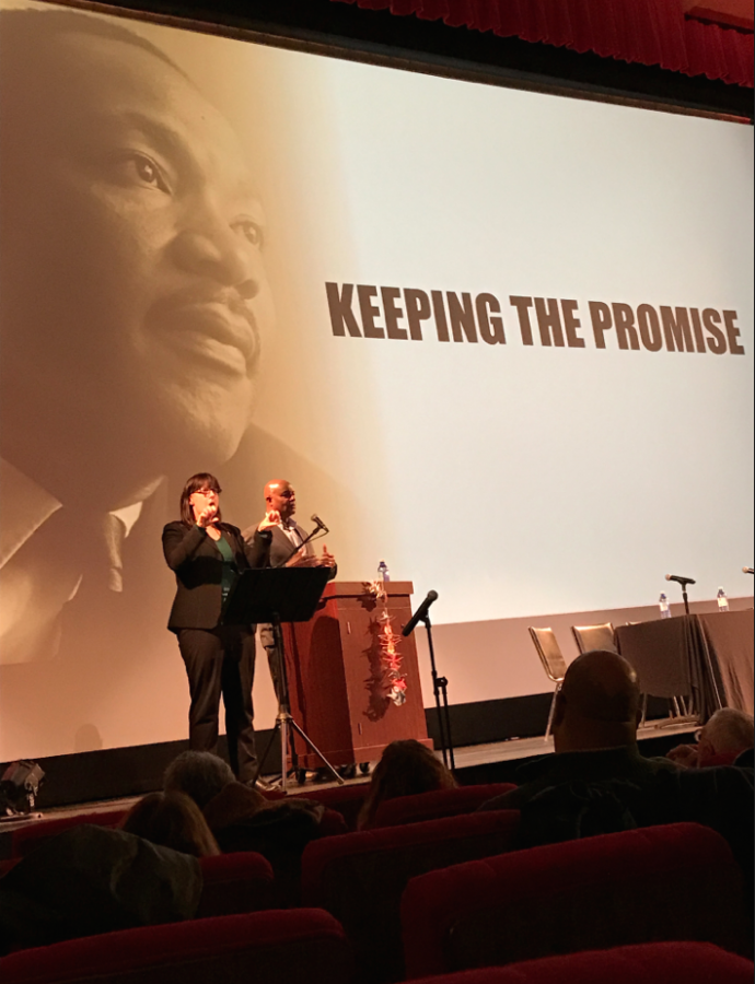 The Martin Luther King Jr. celebration committee held the
