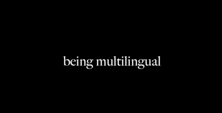 Being multilingual