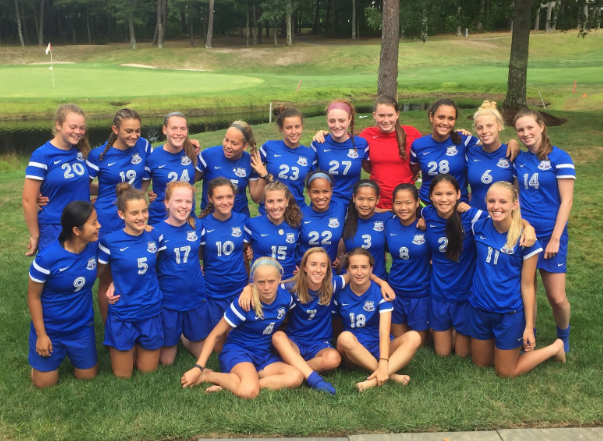 The+girls+varsity+soccer+team+is+one+of+many+teams+at+the+high+school+that+was+able+to+qualify+for+the+postseason.+For+soccer%2C+teams+must+have+at+least+a+500+record+in+order+to+qualify.+The+girls+varsity+soccer+team+won+two+of+their+playoff+games%2C+making+it+further+than+any+other+Brookline+high+school+girls+varsity+soccer+team+ever+has.+