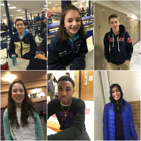 Peeps on the street: Why do you play a sport at the high school?