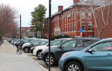 Absence of parking spaces around the high school creates issues for students