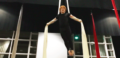 Circus activities provide students with unique athletic opportunity