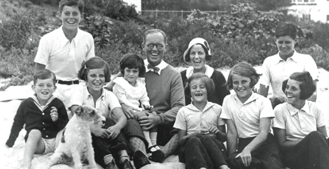 Rose F. Kennedy used the house to represent the entirety of John F. Kennedy's youth; there is a photo downstairs that was actually taken in the Kennedy's second house on Abbotsford Road. PHOTO FROM THE PUBLIC DOMAIN