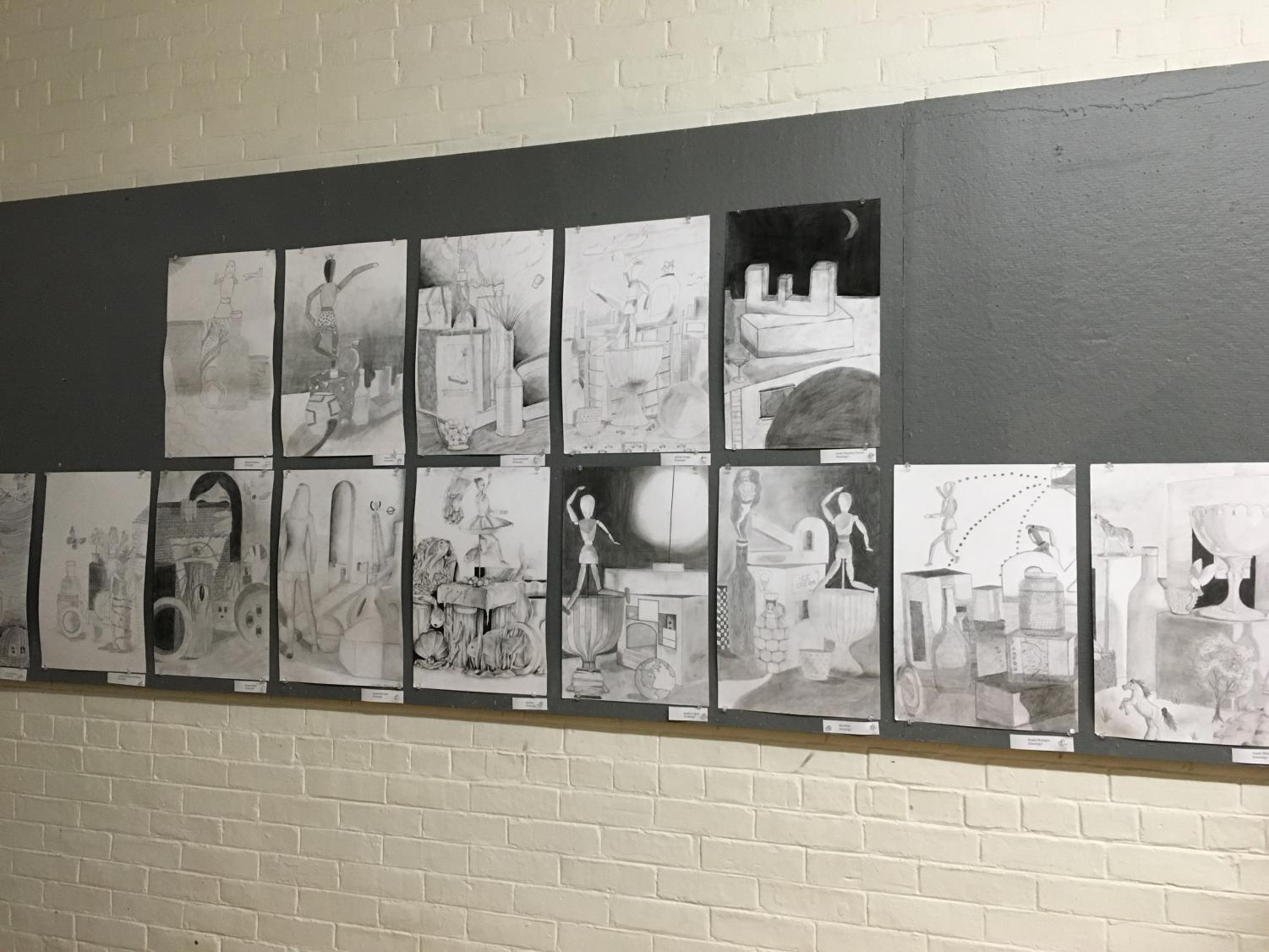 Students reflect on the presence of varied skill levels in art classes. All artists at the high school must start with level one classes before moving on to more advanced electives.