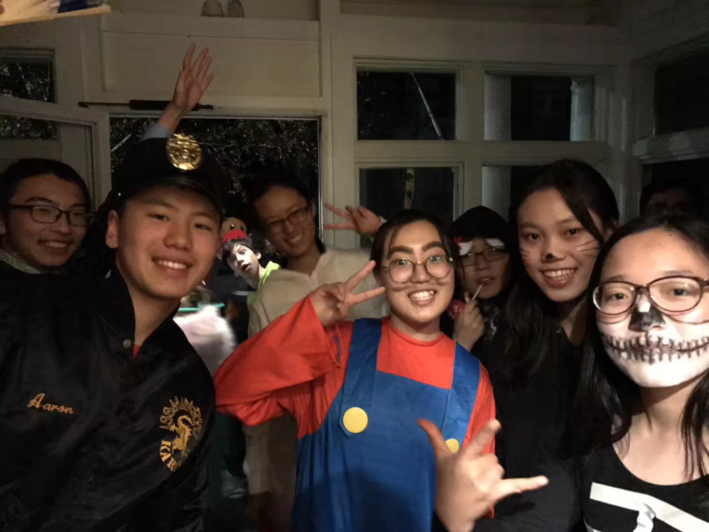 Trick or Treat! Chinese exchange students celebrate halloween.