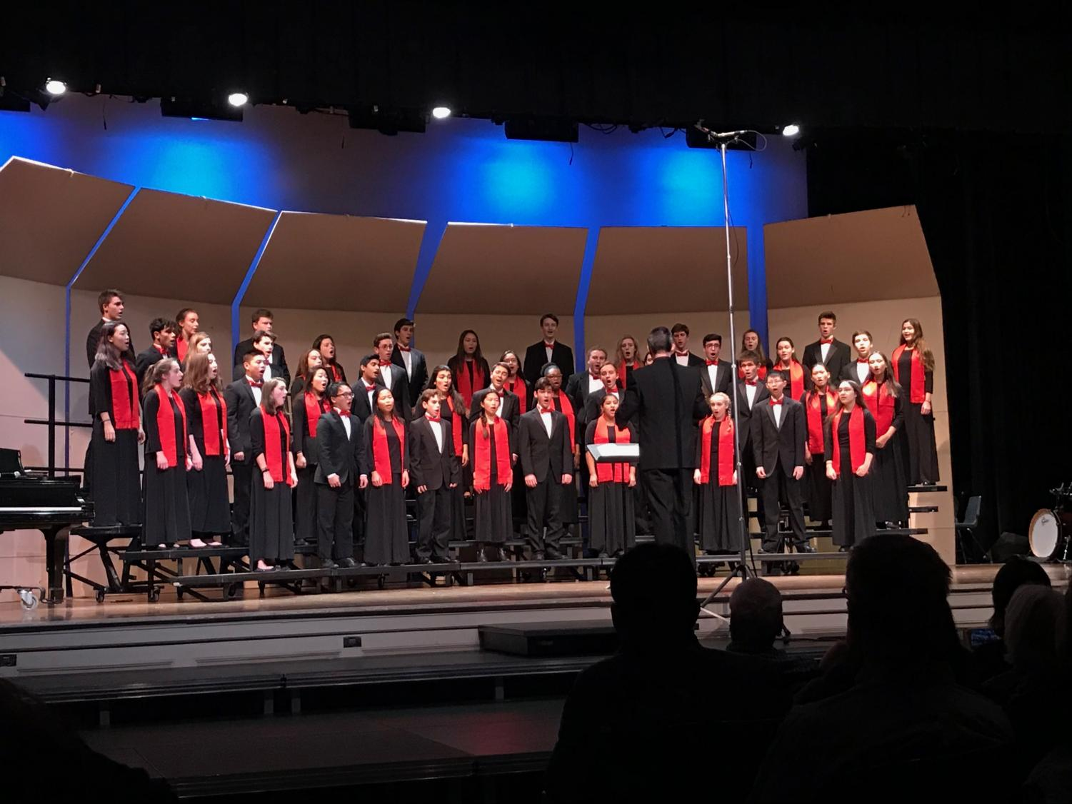 Camerata was one of the highlights of the 2017 Winter Concert in the Robert-Dubbs Auditorium. Their performance was  forceful and soul-filling.