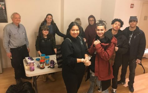 Alternative Choices in Education students participate in community service during the holiday season. This past November, students volunteered as part of Saint Paul's Episcopal Church's homeless programs.