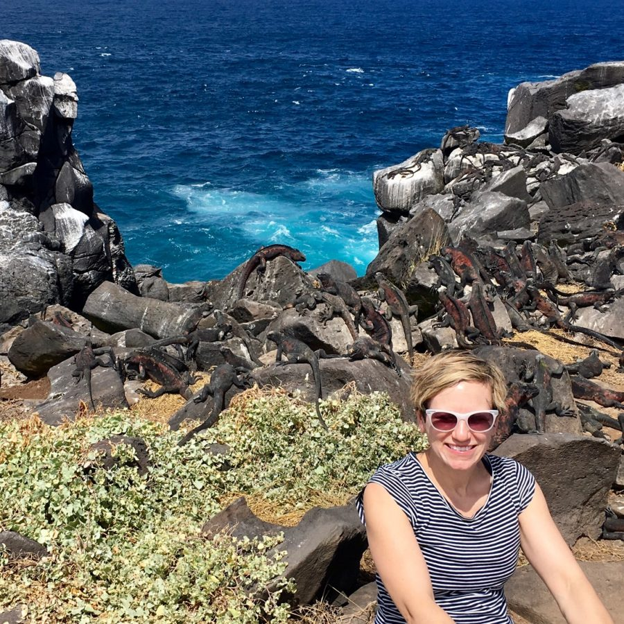 Physics teacher Stacy Kissel brings experiences from her travels into her classroom.