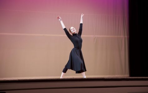 Social studies teacher Jennifer Barrer-Gall dances ballet during