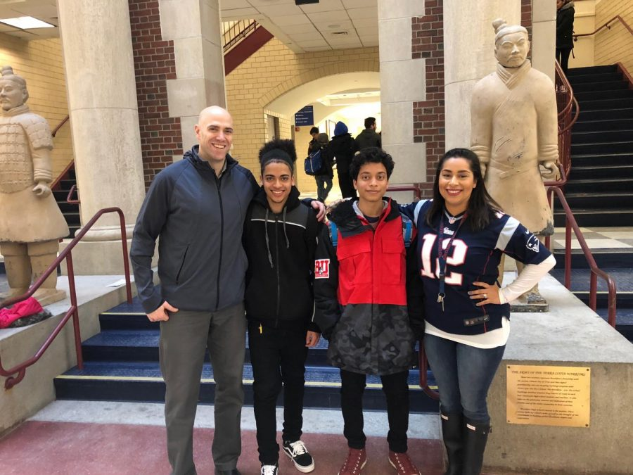 Puerto Rican students join the Brookline community after hurricane