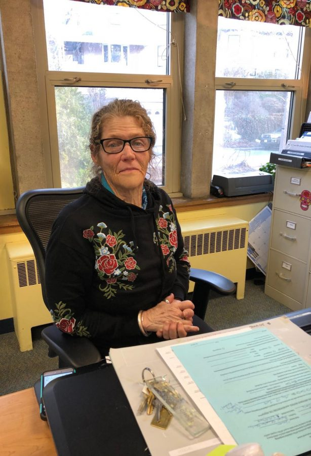 Kimberly Longmore is an administrative assistant at the Michael Driscoll Elementary School.