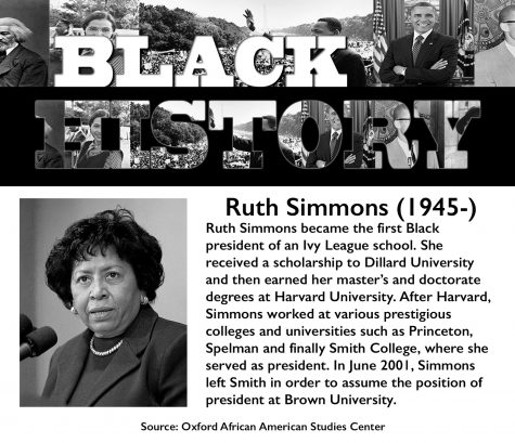 Black History Month: Ruth Simmons