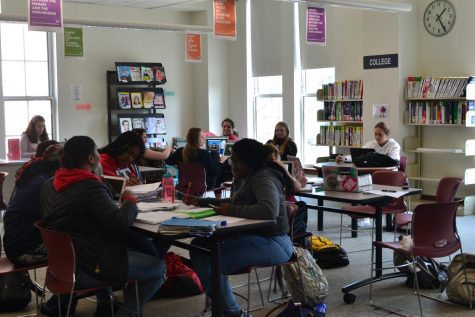 Students' use of school library evolve with changing needs