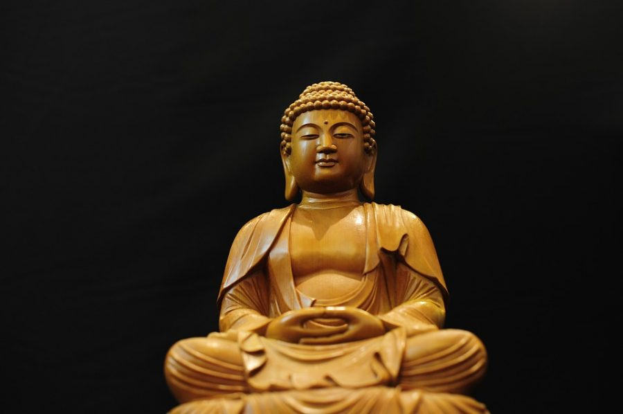 The Buddhist Club, founded by junior Vivian Suhanosky, involves meditation and discussion. Suhanosky founded the club as a way of dealing with stress.
