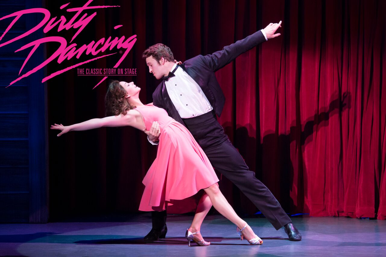 The tour, starring Kaleigh Courts (left) as Baby and Aaron Patrick Craven (right) as Johnny began on June 12 in Boston, Mass. The cast will perform in five cities in total.