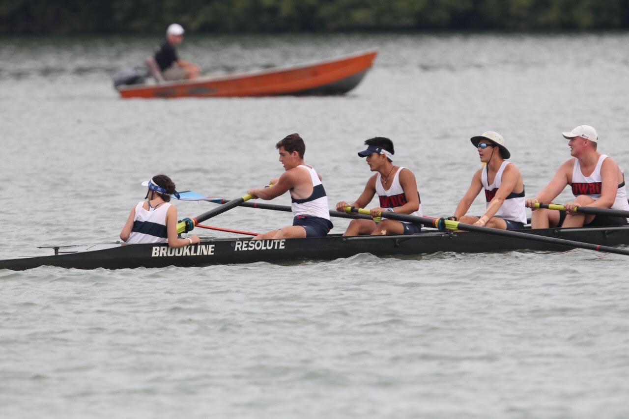 thletes on the high school crew team participate in the Dirty Water boat Club program over the summer to help them stay in shape for the upcoming fall season.